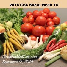 2014 CSA Share Week 14