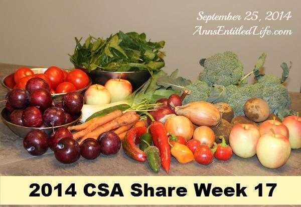 2014 CSA Share Week 17