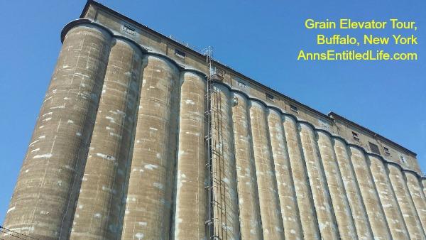 Grain Elevator Tour, Buffalo, New York