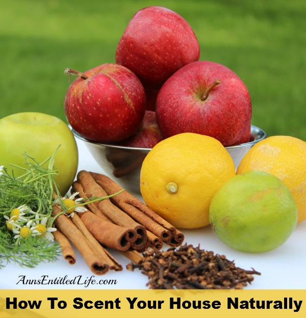 How To Scent Your House Naturally