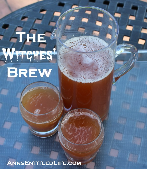 The Witches' Brew: frightfully delicious, eerily sweet and tasty, The Witches' Brew recipe will be a mysterious addition to your Halloween Party!