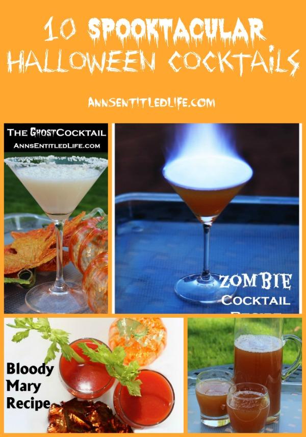 10 Spooktacular Halloween Cocktails