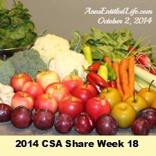 2014 CSA Share Week 18