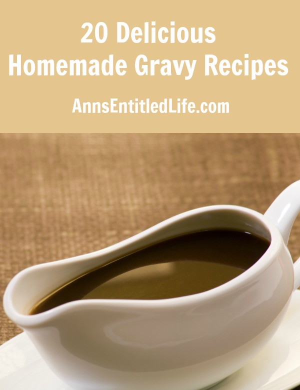 20 Delicious Homemade Gravy Recipes. This collection of 20 Delicious Homemade Gravy Recipes contains the perfect accent for your wonderful dinner recipe.