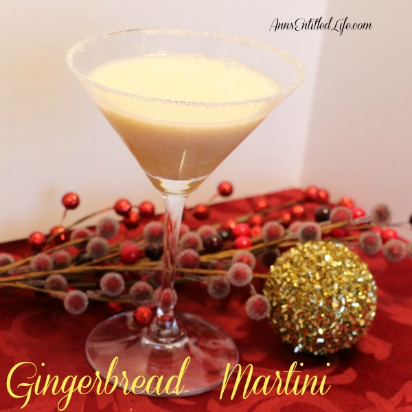 Gingerbread Martini. This Gingerbread Martini recipe is a festive holiday cocktail that tastes just like gingerbread.