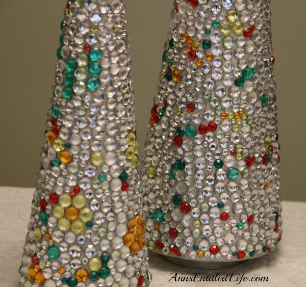 Jeweled Christmas Tree Craft