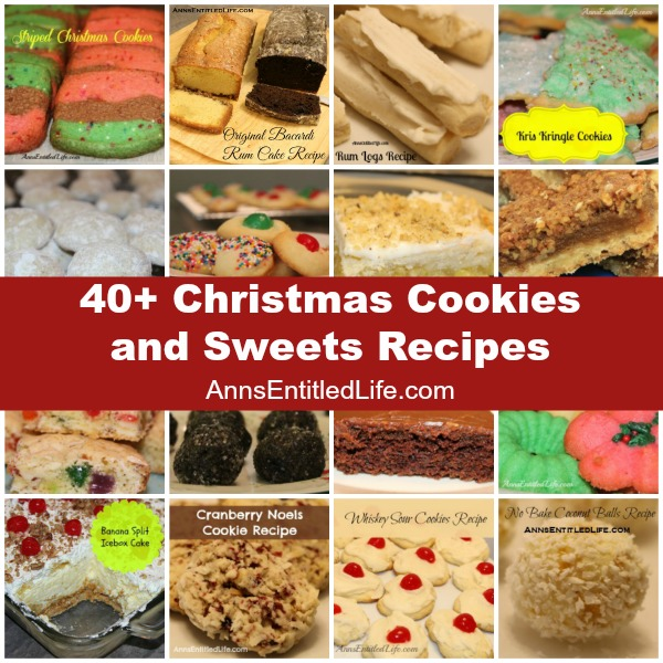 Christmas Cookies and Sweets Recipes