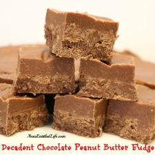 Decadent Chocolate Peanut Butter Fudge
