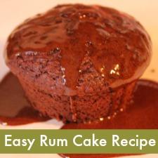 Easy Rum Cake Recipe