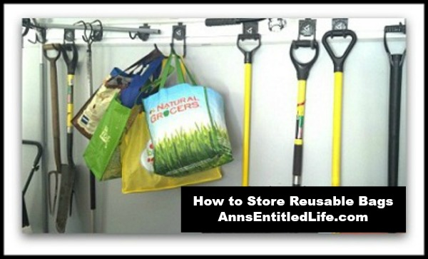 How to Store Reusable Bags