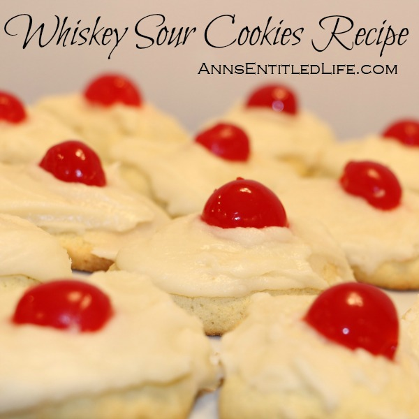 Whiskey Sour Cookies Recipe. The great taste of a classic Whiskey Sour Cocktail in cookie form with this wonderful and easy to make Whiskey Sour Cookies Recipe.