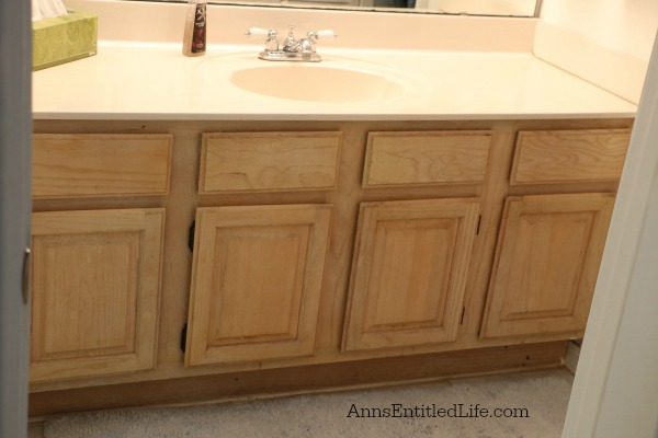 Bathroom Vanity Makeover