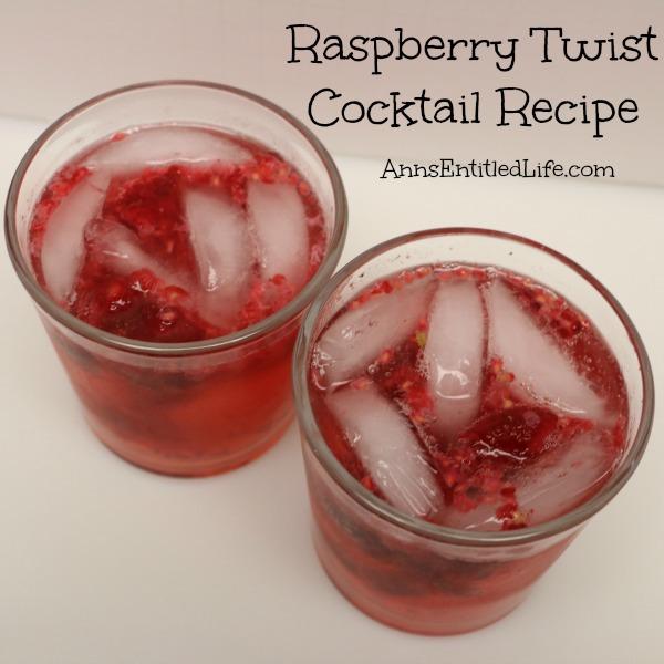 Raspberry Twist Cocktail Recipe. Clear, crisp yet sweet, this Raspberry Twist Cocktail is simply delicious.