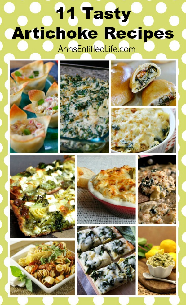 11 Tasty Artichoke Recipes. Breakfast, lunch or dinner, these versatile and delicious artichoke recipes are simply fabulous!