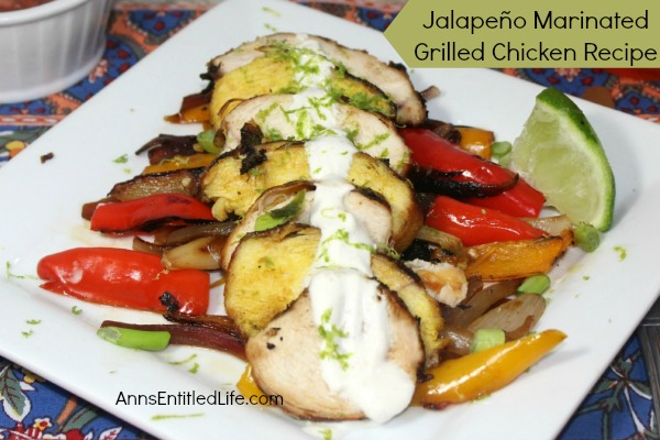 Jalapeno Marinated Grilled Chicken Recipe