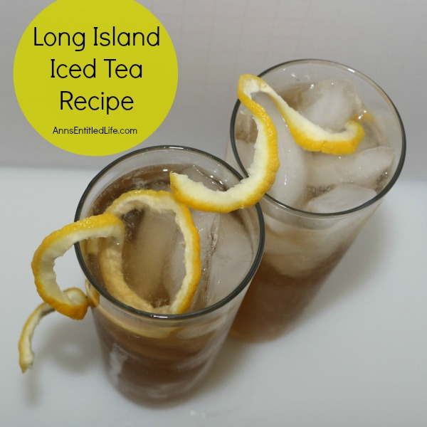 Long Island Iced Tea Recipe. An extremely potent, but very delicious cocktail recipe, the Long Island Iced Tea goes down very, very smoothly.