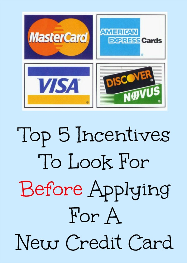 Top 5 Incentives To Look For Before Applying For A New Credit Card
