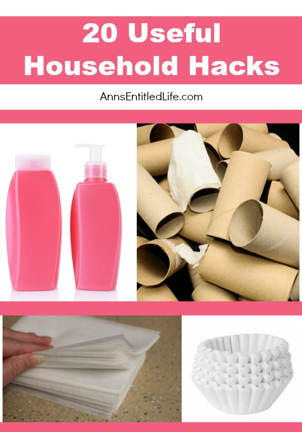 20 Useful Household Hacks. Many household products start out with one specific purpose in mind, but other uses are quickly found in addition to that product's original intent. Some household hacks are silly, some are wasteful, but are truly useful in a pinch! Here are some useful household hacks you might really like to try