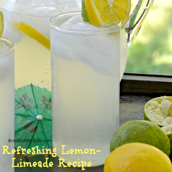 Refreshing Lemon-Limeade Recipe. This refreshing lemon-limeade drink combines fresh lemon and lime with the sweet taste of simple syrup for an incredibly delicious drink that will quench your thirst on a hot day.
