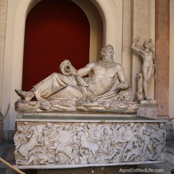 Vatican water god statue