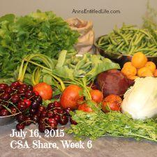 2015 CSA Share Week 6