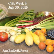 2015 CSA Share Week 8