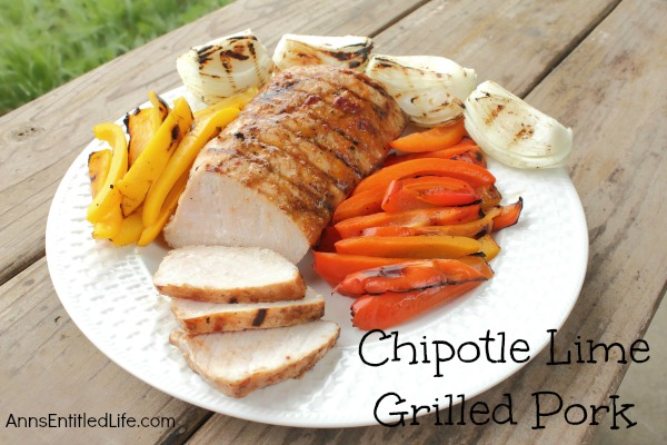 Chipotle Lime Grilled Pork Recipe