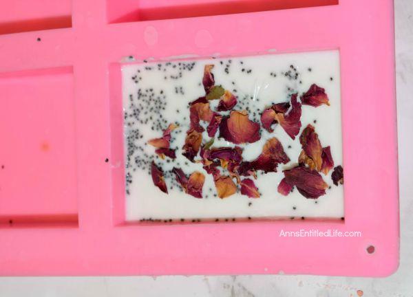 Rose Petal Soap Recipe
