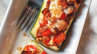 Zucchini Pizza Boats Recipe