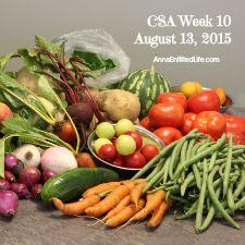 2015 CSA Share Week 10