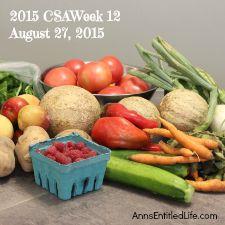 2015 CSA Share Week 12