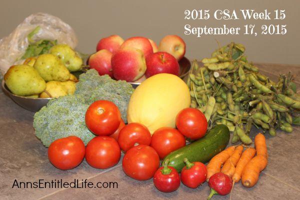 2015 CSA Share Week 15