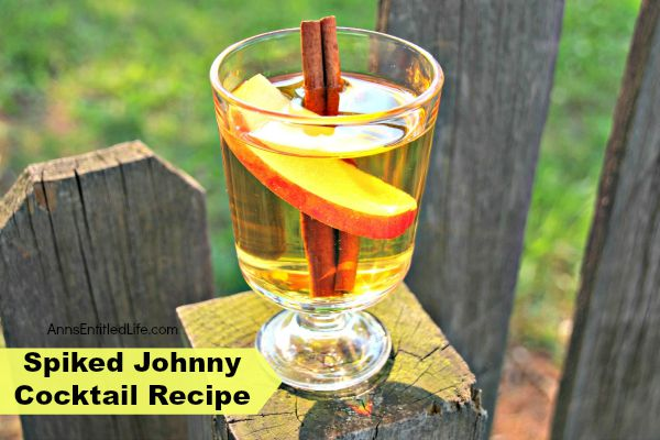 Spiked Johnny Cocktail Recipe; the Spiked Johnny a great cocktail! The spice undertones of the Amaretto play well with summer, winter and fall dishes and snacks. It can also be served warm in the colder months and compliments pumpkin pie and donuts deliciously.
