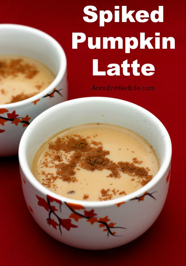Spiked Pumpkin Latte Recipe. When autumn leaves begin to fall, this smooth and creamy spiked pumpkin latte is the perfect cocktail for the season. Warm up on a cold night with this delicious spiked pumpkin latte.