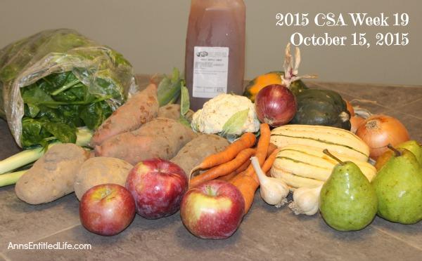 2015 CSA Share Week 18