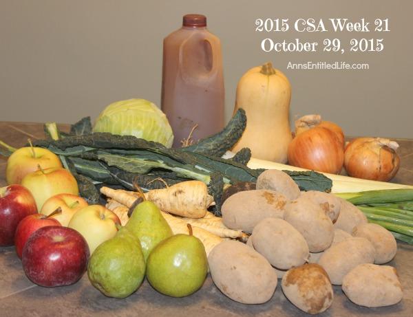 2015 CSA Share Week 21