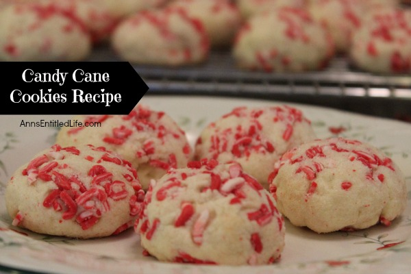 Candy Cane Cookies Recipe. These unique Candy Cane Cookies will make your entire house smell like Christmas! The cool, refreshing taste of peppermint is the perfect holiday flavor. Easy to make, these candy cane cookies are great for cookie exchanges and your holiday cookie platter.