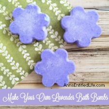 Make Your Own Lavender Bath Bombs