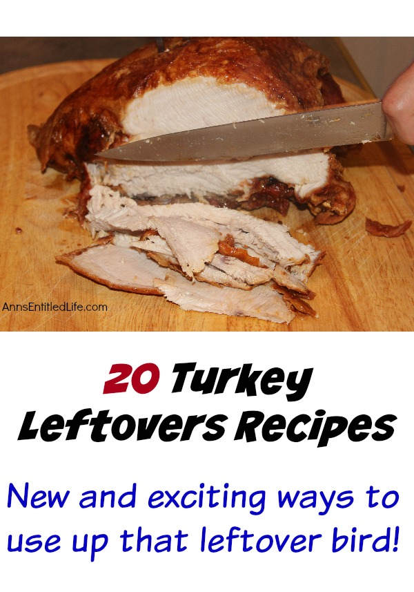 Turkey Leftovers Recipes. Leftover turkey?  All these recipes can be used with turkey leftovers to help you use up that leftover bird!