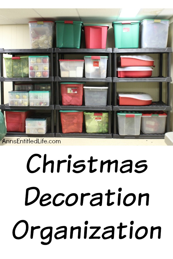 How to organize your Christmas decorations and decor so you can find things! Organizing your Christmas decor so it is easy to find and does not get damaged. Christmas Decoration Organization Tips, Ideas and instructions.
