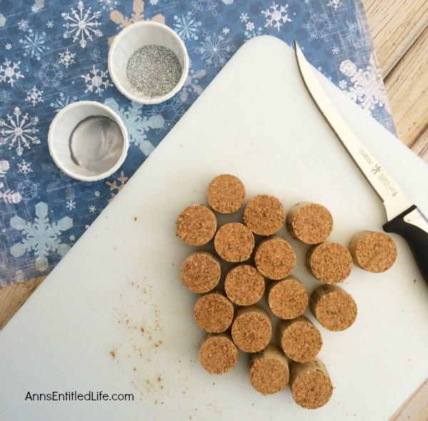 DIY Cork Snowflake Ornament. If you have saved wine corks, this is a cute and easy holiday craft for you! Make your own snowflake ornaments to hang on your Christmas tree, to give as gifts, or as a fun and simple craft to keep the kids busy on a cold winter day.