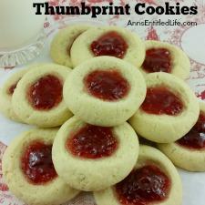 Thumbprint Cookies Recipe