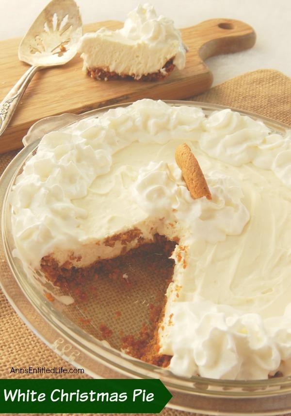 White Christmas Pie.White Christmas Pie Recipe