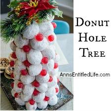 Donut Hole Tree
