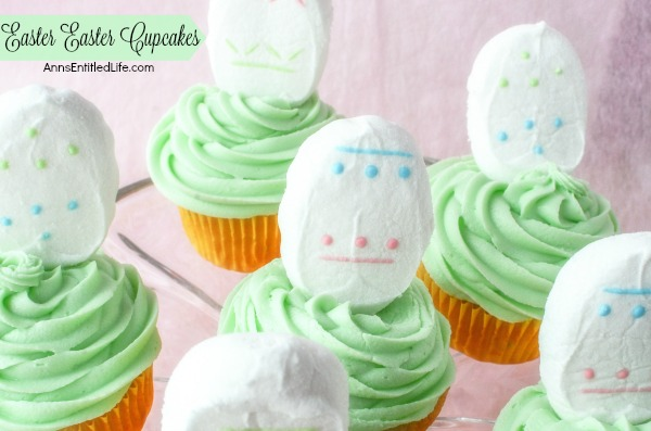 Easy Easter Cupcakes Recipe. Sometimes, the simplest desserts are the most satisfying. Dress up your cupcakes for a sweet little Easter treat, perfect for Easter brunch, dessert or to send one in for a school snack.