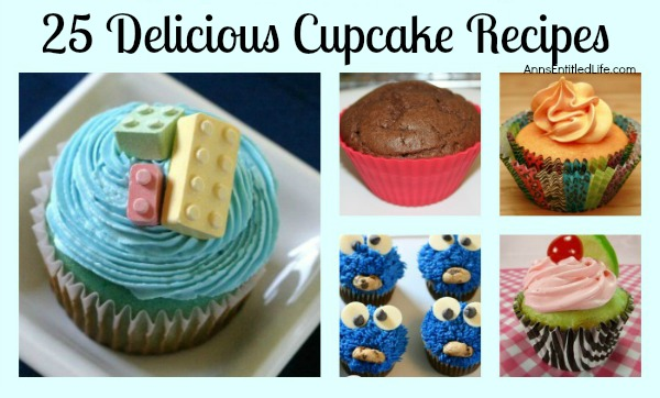 25 Delicious Cupcake Recipes. Here are 25 Delicious Cupcake Recipes, perfect for the lunchbox, an after school snack, dessert or an evening treat! If you have a sweet tooth, these are sure to please!