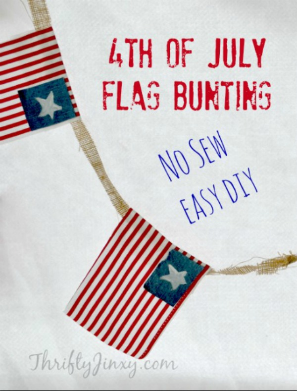 Looking for a simple Patriotic Craft idea for Memorial Day, Independence Day, Flag Day or just for general decor? Try one of these ideas! From planters to clothing, from wall decor to tabletop decorations, one of these 10 easy Patriotic Crafts will by just perfect to add a festive touch to your holiday or occasion.