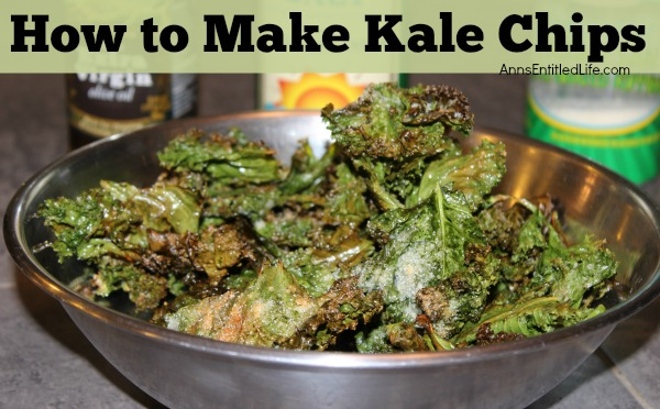 Kale Chips Recipe. Easy to make, deliciously crispy Kale chips! This Kale Chips recipe will turn even those that do not normally care for Kale, into Kale Lovers!!