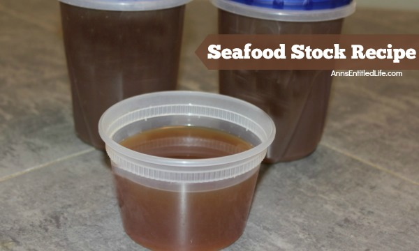Seafood Stock Recipe. Make your own seafood stock to add extra flavor to your next seafood or fish recipe with this easy Seafood Stock Recipe.