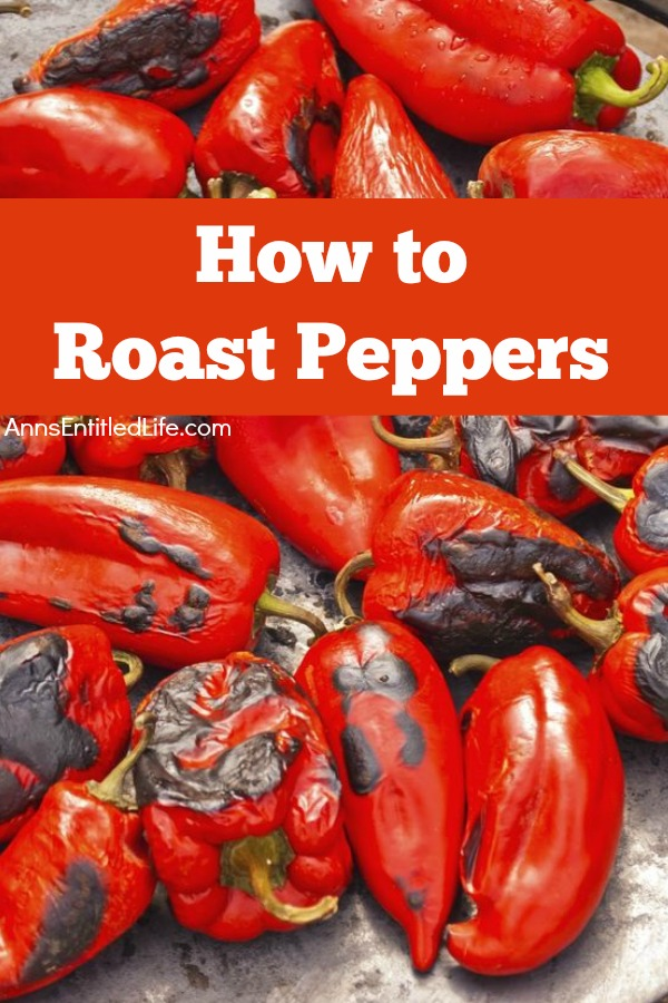 How to Roast Peppers. Roast peppers for soups, stews and more using these step by step instructions. Roasting peppers brings out the sweetness in your sweet peppers and the heat in your hot peppers. Roasted peppers are easy to freeze, and great to have on hand for cooking.